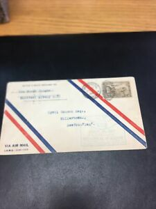 Canadia First Flight Cover. Montreal-Albany N.Y. 1928.