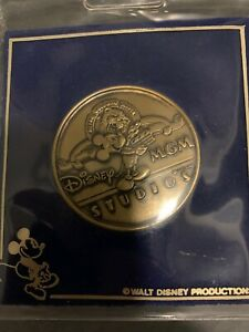 Disney Rare MGM Studios / Hollywood Gold Medallion Coin Opening Spring 1989
