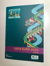 2021 Folder Filatelico Poste Italiane UEFA Europeo di Calcio Euro 2020