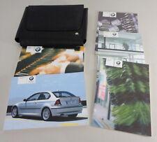 Owner's Manual + Cartera BMW 3-Series Compacto E46 316ti-320td Desde 2004