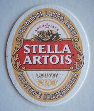 STELLA ARTOIS PREMIUM LAGER BEER BELGIUM'S ORIGINAL BEER COASTER