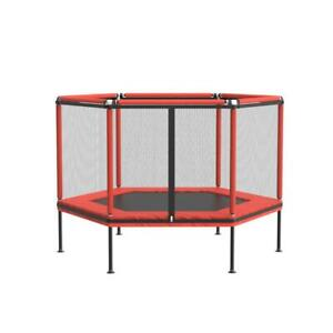 Backyard Trampoline Outdoor Safety Net Round Rust-Resistant Thick Spring Feature