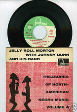 45 RPM EP JELLY ROLL MORTON TREASURES OF NORTH AMERICAN NEGRO MUSIC 4