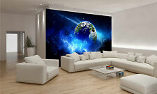 PLANET IN SPACE Wall Mural Photo Wallpaper GIANT DECOR Paper Poster Free Paste