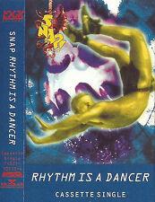 Snap Rhythm Is A Dancer CASSETTE SINGLE Electronic Euro House 1992 UK