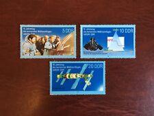 GERMANY EAST DDR MNH 1988 MANNED SPACE FLIGHT SOYUZ MIR STATION JAHN BYKOWSKI 01