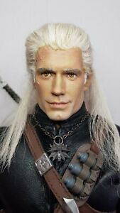 Custom 1/6 Geralt From The Witcher (Hot Toys Scale)