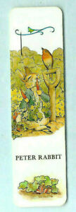 1992 F Warne Antioch Bookmarks The Tale of Peter Rabbit Beatrix Potter Book