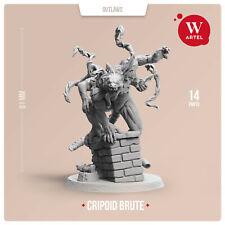 28mm wargame Miniature Cripoid Brute by W Artel