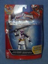 Power Ranger Ninja Acero Blanco Ranger héroe De Acción Nueva