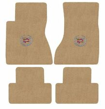Cadillac CTS Floor Mat Set with Cadillac Silver Crest Logo on Fronts