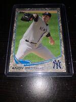 2013 Topps Andy Pettitte #506 /99 Camo NEW YORK YANKEES Free Shipping PWE
