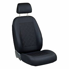 Black Seat Covers for Toyota Avensis Car Seat Cover Front only Driver's Seat