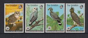 Gambie - 1978,Abuko Nature Réserve,Oiseaux 2nd Series Ensemble - MNH - Sg 400/3