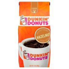NEW SEALED DUNKIN DONUTS HAZELNUT GROUND COFFEE 12 OZ FREE WORLDWIDE SHIP