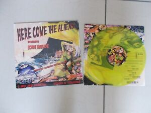 KIM WILDE  - Here Come The Aliens LP Limited Edition Yellow  -  LP VINYL -  NEW