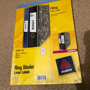 Avery Ring binder Laser Labels 450 Labels for Filing Jobs