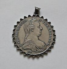 ÖSTERREICH: Maria Theresia Taler als Anhänger, 60er-70er Jahre, Charivari, V.