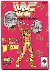 World Wrestling Federation Ultimate Warrior's Workout 1991 Valiant Comics
