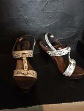 Animal Print ZU Heels for Women