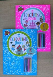 Artbox my colouring book boys girls children's kids colouring activity book