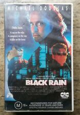 Michael Douglas - BLACK RAIN VHS | CIC Taft | Australian Version PAL