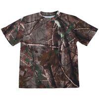 Neues Outdoor Jagd Tarnung T-Shirt Maenner Atmungsaktiv Armee taktisches Kamp OE