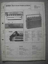 SABA Transatlantic 18 Automatic Service Manual