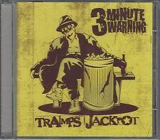 3 MINUTE WARNING - TRAMPS JACKPOT - (brand new still sealed cd) - DOGCD24