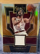 Derrick Rose 2017-18 Panini Select Prizm Game Used Jersey Card #/49