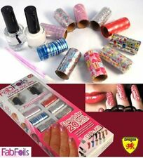 Fab Foils 13 Pcs Salon Style Nail Art Kit Nail Stickers Nail Foil Self Designs