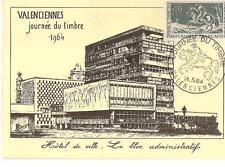 Jounée du Timbre - Carte locale Valenciennes 1964