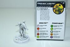 Heroclix Superior Foes of Spider-Man 050 Power Man & Iron Fist Super Rare Sketch