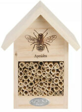 Bee and Bug Hotel House Bamboo Silhouette Design 100% FSC-Certified Wood