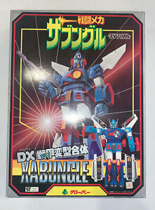 Clover Xabungle DX Diecast Chogokin Robot MIB Never Used. To Infinity!