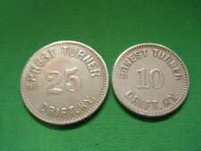 Kentucky Coal Scrip 10¢ & 25¢ Ernest Turner-Drift-KY-Floyd County