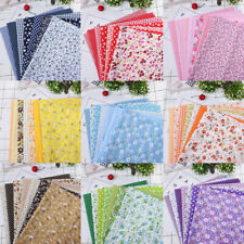 Mixed 100% Cotton Fabric Material Bundle Scraps Offcuts Quilting Quilt Fabr FLY