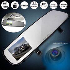 HD Car Auto DVR Mirror Monitor Dash Cam Recorder Rear View Reverse Backup Camera