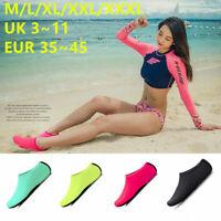 Unisex Mens Womens Kids Water Skin Shoes Socks Slip On Sea Wet Beach Swim Surf-1