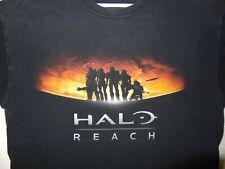 T shirt Vintage Halo Reach Video game Adult Large  Black