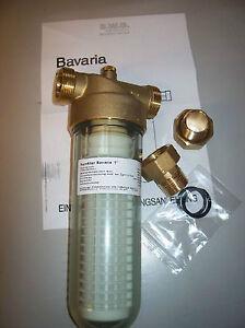 """BWG Feinfilter Wasserfilter Typ Bavaria 1"""" Für den Einsatz bei Trinkwasser DVGW"""