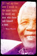 Nelson Mandela ART PRINT PHOTO POSTER REGALO politica-con preventivo