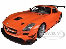 2011 MERCEDES SLS AMG GT3 STREET VERSION ORANGE 1/18 BY MINICHAMPS 151113105