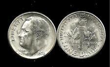1955-S ★ Roosevelt Dime ★ 90% Silver ★ BU/UNC