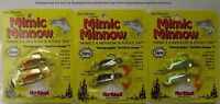 Mimic Minnow Fishing Lure MMC2 1/16oz Holographic Baitfish Image 1-2 Pack