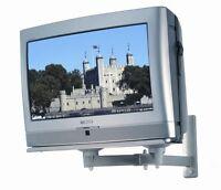 "CRT OLD TV Type Wall Mount Bracket - Platform For TVs Up To 29"" SILVER VERSION"
