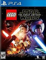 LEGO Star Wars: The Force Awakens (Sony PlayStation 4, 2016) PS4 NEW