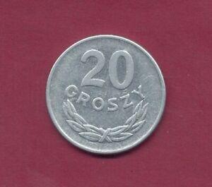 1949; Polen  20 Groszy (Al) , P.Nr.35a  TT6336  Erh. ss