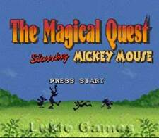 Magical Quest W/ Mickey Mouse SNES Super Nintendo Game