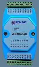 Digital input module switch module Isolated 16 DI RS485 MODBUS WP8026ADAM
